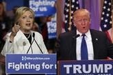 Échappées de Donald Trump et Hillary Clinton dans la course à la Maison Blanche