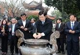 Le chef de l'État en visite à Bac Ninh