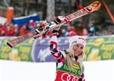 Ski : Gut dépasse Vonn, Brem fait le trou dans le slalom géant de Jasna