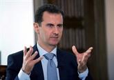 Syrie : Assad se dit prêt à tenir une élection présidentielle anticipée