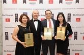Vingroup reçoit trois premiers prix d'Asie-Pacifique 2016