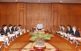 Le dirigeant du PCV demande d'accélérer le traitement des affaires de corruption