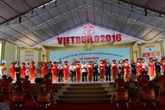 Ouverture de l'exposition internationale Vietbuild Dà Nang 2016