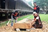 Rénovation des nhà rông et nhà dài du Musée d'ethnographie du Vietnam