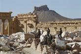 Un charnier de l'EI découvert à Palmyre en Syrie