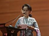 Aung San Suu Kyi nommée conseillère d'État