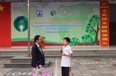 Un concours sur la protection de l'environnement à Hanoi