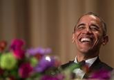 Le président Obama fait rire le tout-Washington une dernière fois