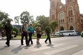 Hô Chi Minh-Ville accueille 1,8 million de touristes étrangers en quatre mois