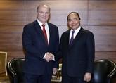 Activités du Premier ministre Nguyên Xuân Phuc en Russie