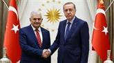 Binali Yildirim consacré Premier ministre turc