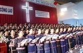Favoriser les activités des protestants au Centre et à Binh Phuoc