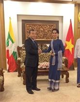 Renforcement des relations diplomatiques Vietnam - Myanmar