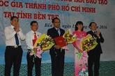 Inauguration du Centre de formation de l'Université nationale de HCM-Ville à Bên Tre
