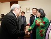 Coopération entre les Partis communistes vietnamien et tchèque
