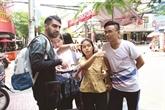 Les jeunes Samaritains du tourisme de Hô Chi Minh-Ville