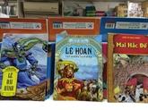 Des bandes dessinées historiques qui fascinent de jeunes lecteurs vietnamiens