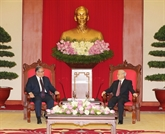 Vietnam-Grèce :resserrer les liens entre les deuxPartis communistes