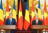 Le Premier ministre roumain termine sa visite officielle au Vietnam