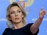Moscou pour un règlement politico-diplomatique