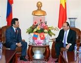 Journée chargée du Premier ministre Nguyên Xuân Phuc en Mongolie