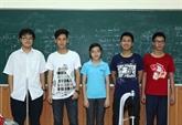 Le Vietnam primé aux 47es Olympiades de physique 2016