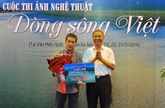 Remise des prix du concours de photos sur les rivières vietnamiennes