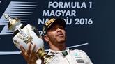 Victoire de Lewis Hamilton (Mercedes)
