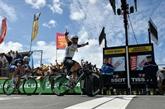 Cavendish fonce, Contador chute
