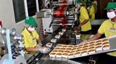Le premier lot de gâteaux de lune de Mondelez Kinh Dô exporté aux États-Unis