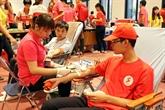 Itinéraire rouge 2016 : près de 21.000 d'unités de sang collectées