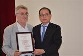 Le Prix national vietnamien de l'information pour l'étranger décerné à un réalisateur français
