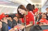 Vietjet propose 30.000 billets à 0 dông à Taïwan (Chine) et en République de Corée