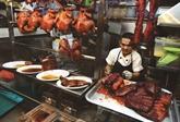 Au restaurant de rue à Singapour : dur d'être sacré par le Michelin