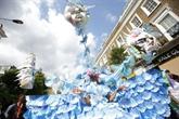 Les 50 ans colorés et entraînants du carnaval de Notting Hill à Londres