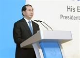 Le président Trân Dai Quang termine sa visite à Singapour