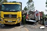 Baisse du nombre d'accidents de la route depuis le début de l'année