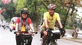 Plus de 16.000 km à vélo pour sensibiliser aux enjeux climatiques