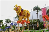 Première : Festival de la licorne, du lion et du dragon à Hô Chi Minh-Ville