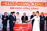 Vietnam-Chine : ouverture d'une ligne aérienne HCM-Ville - Hongkong par VietjetAir