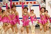 Au Japon, les pom-pom girls du troisième âge applaudies à tout rompre