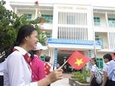 L'originalité au collège Hoàng Sa à Dà Nang