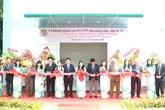 Inauguration du «Laboratoire sur la pile à combustible»