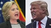 Hillary Clinton et Donald Trump s'affrontent dans un débat tendu
