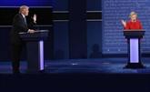Clinton et Trump confortent leurs bases lors d'un virulent débat