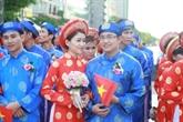 Hô Chi Minh-Ville : un mariage collectif le jour de la Fête nationale