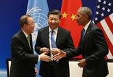 Climat : Chine et États-Unis ratifient l'accord de Paris avant le G20