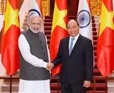 Le Premier ministre indien termine sa visite officielle au Vietnam
