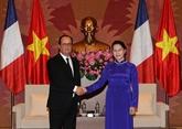 Entrevue Nguyên Thi Kim Ngân - François Hollande