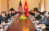Le secrétaire d'État des États-Unis, John Kerry, en visite au Vietnam